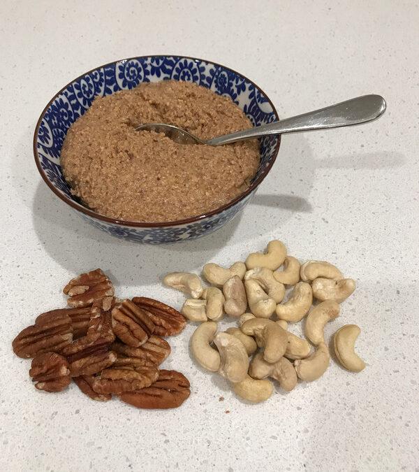 Cashew Pecan Nut Butter
