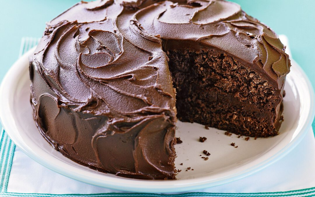 The evolution of chocolate cake